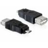 DELOCK Adapter USB micro-B male > USB 2.0-A female OTG