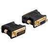 DELOCK adapter VGA (F) - DVI-I (M)