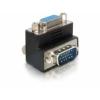 DELOCK Adapter VGA male/female right angled