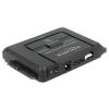 DELOCK Converter USB 3.0 to SATA 6 Gb/s / IDE 40 pin / IDE 44 pin with backup