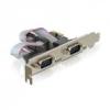 DELOCK DELOCK PCI-e Bővítőkártya 2x Soros port