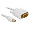 DELOCK Displayport mini apa > DVI 24pin apa kábel, 2 m