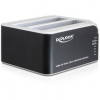 DELOCK Dual Docking Station SATA HDD > USB 3.0 with Clone Function