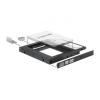 DELOCK HDD Keret 5.25 slim (2.5-es HDD/SSD-hez) Delock 61993