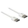 DELOCK HDMI A (M) - HDMI A (M) 3D 4K kábel 0,25 m