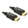 DELOCK kábel  DisplayPort M/M  1m  arany