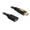 DELOCK kábel  High Speed HDMI Ethernettel  M/F  1m