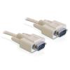 DELOCK kábel RS-232 soros Sub-D9 M/M  2 m