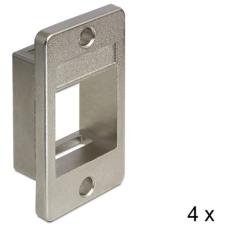 DELOCK Keystone Mounting for enclosures 4 pieces asztali számítógép kellék