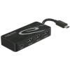 DELOCK Külso, USB 3.1 Gen 1 elosztó, USB Type-C > 3 x USB 3.0-s A-típusú + 1 x USB Type-C