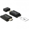 DELOCK Micro USB OTG-kártyaolvasó USB 2.0 Micro-B csatlakozódugóval