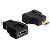 DELOCK mini HDMI Ethernet - mikro HDMI adapter