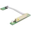 DELOCK mini PCI-E x1 -> PCI Riser card (5V, 13cm, bal)