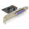DELOCK PCI-e Bővítőkártya 1x Párhuzamos port + Low Profile