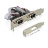 DELOCK PCI Express-kártya > 2 x Soros