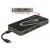 DELOCK USB 3.1 Type-C docking station HDMI + Displayport + VGA 1080p, USB Hub, USB PD