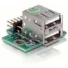 DELOCK USB Pinheader male   2x USB2.0 female – up