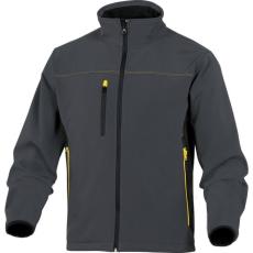 DeltaPlus Mysen szürke színű softshell dzseki