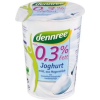 Dennree bio 0,3%-os natúr joghurt 500g