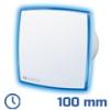 - Design elszívó LED light kék (100 mm) időkapcsolós