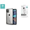Devia Apple iPhone 11 Pro Max ütésálló hátlap - Devia Defender 2 Series Case - clear