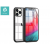 Devia Apple iPhone 12 Pro Max ütésálló hátlap - Devia Shark-4 Series Shockproof Case - black/transparent