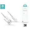 Devia Apple iPhone 5/5S/5C/SE/iPad 4/iPad Mini USB töltő- és adatkábel 2 m-es vezetékkel - Devia Smart Cable Lightning - white