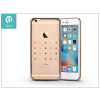 Devia Apple iPhone 6 Plus/6S Plus hátlap kristály díszitéssel - Devia Crystal Love - champagne gold