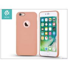 Devia Apple iPhone 7 hátlap - Devia Ceo - rose gold tok és táska