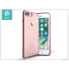 Devia Apple iPhone 7 Plus szilikon hátlap - Devia Glitter Soft - rose gold