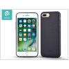 Devia Apple iPhone 7 Plus szilikon hátlap - Devia Jelly Slim Leather 2 - black