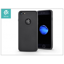 Devia Apple iPhone 7 szilikon hátlap - Devia Egg Shell - black tok és táska