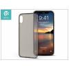 Devia Apple iPhone X szilikon hátlap - Devia Naked - clear tea