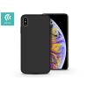 Devia Apple iPhone XS Max hátlap - Devia Nature - fekete