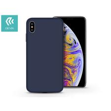 Devia Apple iPhone XS Max hátlap - Devia Nature - kék tok és táska