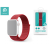 Devia Apple Watch lyukacsos sport szíj - Devia Deluxe Series Sport3 Band - 38/40 mm - red