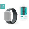 Devia Apple Watch lyukacsos sport szíj - Devia Deluxe Series Sport3 Band - 42/44 mm - storm gray