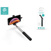 Devia Devia Selfie Holder szelfi bot exponáló gombbal, Lightning csatlakozóval - Devia Leisure Series Selfie-Stick - black