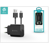Devia Devia Smart USB hálózati töltő adapter + micro USB kábel 1 m-es vezetékkel - Devia Smart USB Fast Charge for Android - 5V/2,1A - black