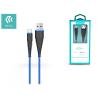Devia Devia USB töltő- és adatkábel 1,5 m-es vezetékkel - Devia Fish1 Flexible Type-C USB 2.4 - blue