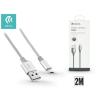 Devia USB - micro USB adat- és töltőkábel 2 m-es vezetékkel - Devia Pheez USB 2.0 - silver