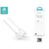 Devia USB - USB Type-C adat- és töltőkábel 2 m-es vezetékkel - Devia Smart USB Type-C 2.0 Cable - white