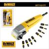 Dewalt Sarokcsavarozó adapter 90° ipari - bithegyekkel - DeWalt1 (DT71517T)