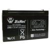 DIAMEC zselés akkumulátor 6V 7Ah DM6-7.2