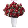 Diamond vörös rózsa körcsokor virágküldéssel