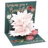 Die Werkstatt GmbH Popshots képeslap, mini, Beautiful Birthday, virágos