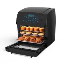 Digitális meleglevegős sütő konyhai eszköz