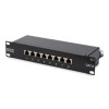 Digitus 10'' CAT6 08-portos FTP patch panel