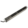 """Digitus 19"""" feszültségvédő elosztó kapcsolóval, C13 aljzat"""
