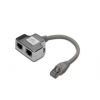 Digitus CAT 5e; Class D; RJ45 patch kábel adapter; árnyékolt